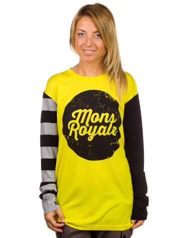 Mons Royale Boyfriend Tech Tee LS