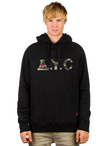 Asphalt Yacht Club Camo Knockout Fleece Hoodie
