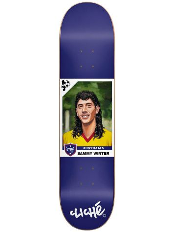 "Cliche Winter World Cup R7 8.25"" x 31.7"" Deck"