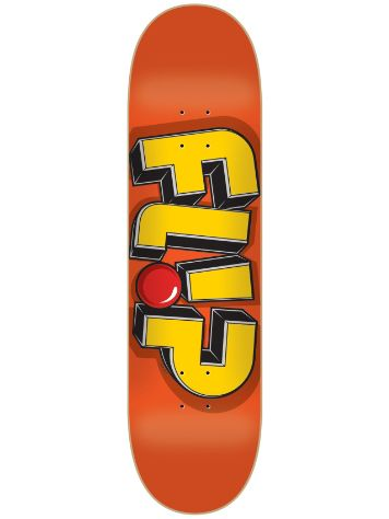 "Flip Odyssey Jumbled Orange 8.13"" x 32"" Deck"
