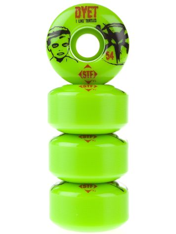 Bones STF Dyet Turtle GRN 54mm Wheels