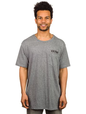 KR3W Cross Out Pocket T-Shirt