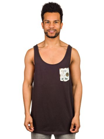 Rhythm Le Pocket Singlet Tank Top