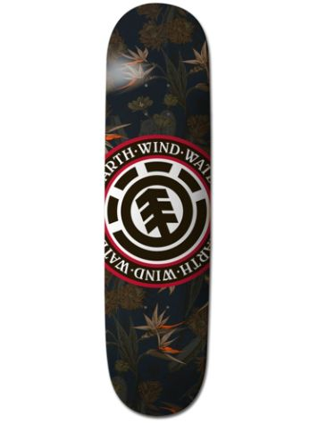 "Element Sketch Floral Seal Navy 8.0"" Deck"