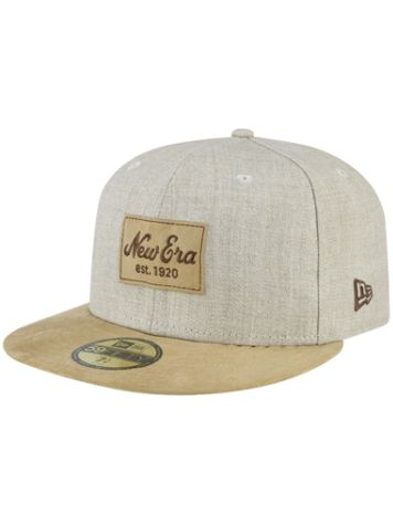 New Era Heather Suede Cap