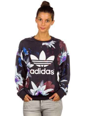 adidas Originals Lotus Print Sweater