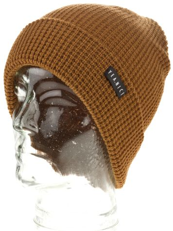 "Yea.Nice Folded Coffee Brown 10"" Beanie"