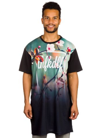 THFKDLF Floral Long T-Shirt