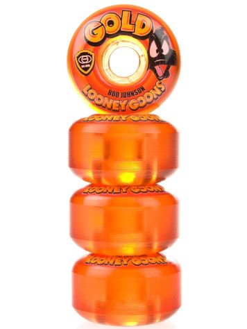 Gold Wheels Johnson Looney Duck 54mm Wheels