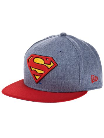 New Era Heather Offical Superman Cap