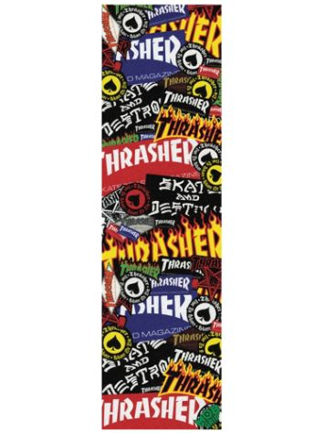 Mob Grip Thrasher Sticker Collage 9