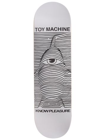 "Toy Machine Toy Division White 8.125"" Complete"