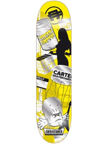 "Cartel Skateboards Mishmash 7.6"" Skateboard Deck"