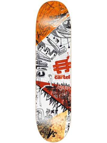 "Cartel Skateboards Framed Society 7.8"" Skateboard Deck"