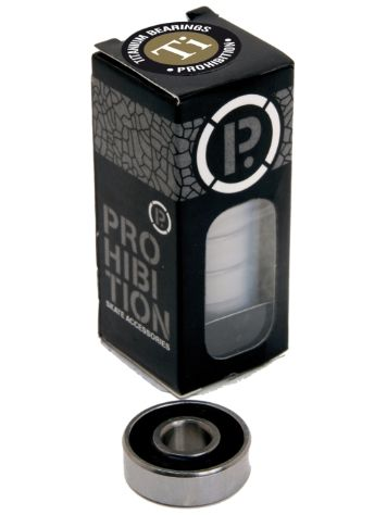 Prohibition Titanium Tube 8 Bearings