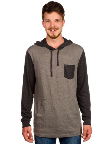 RVCA Set Up Hood T-Shirt LS