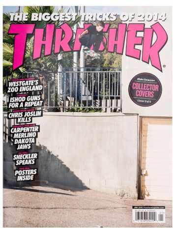 Thrasher Trasher Issue 2015 Januar