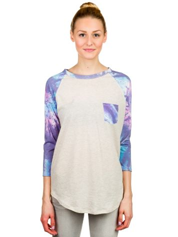 Glamour Kills Tie Dye Pocket 3/4 Raglan T-Shirt LS