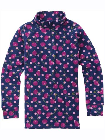 Burton 1/4 Zip Tech Fleece Tee LS Girls
