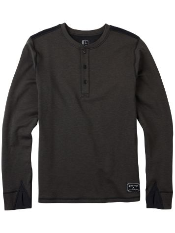 Burton Expedition Wool Henley Tech Tee LS