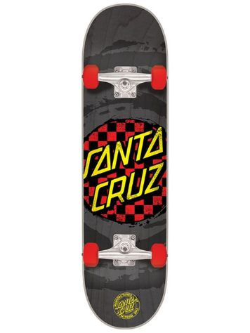 "Santa Cruz Check Dot Mini 7"" Skateboards-Complete"