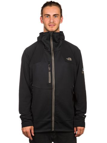The North Face Jackster Hybrid Hooded Fleece Jacket