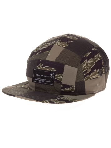 Crooks & Castles Patchwork Camo 5-Panel Cap