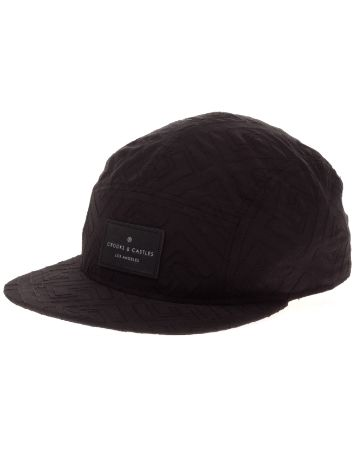 Crooks & Castles Greco Quilt 5-Panel Cap