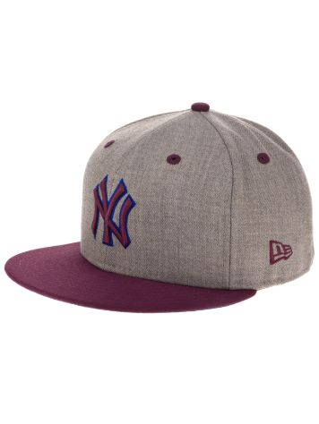 New Era Heather Contrast NY Cap