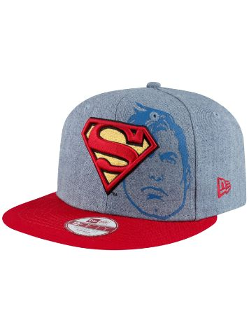New Era Heather Face SUPERMAN Cap