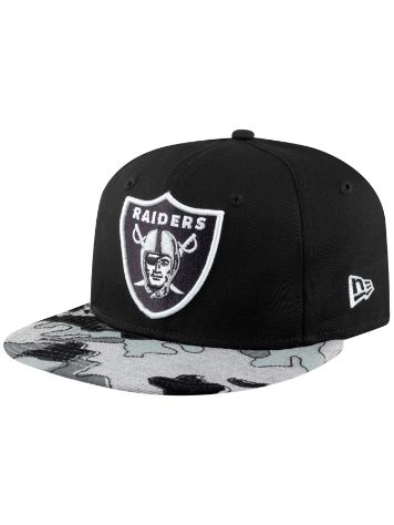 New Era Camo Flock RAIDERS Cap