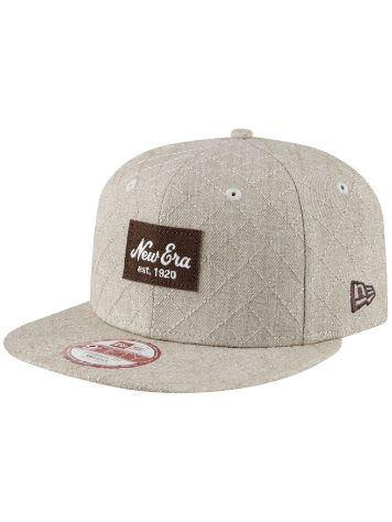 New Era Quilted Patch Cap