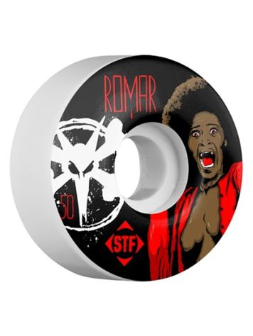 Bones Wheels STF Romar Blood V3 50mm Wheels