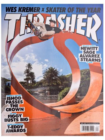 Thrasher Trasher Issue 2015 April