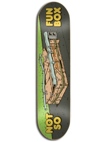 "Skate Mental Not So Fun Box 8"" Deck"