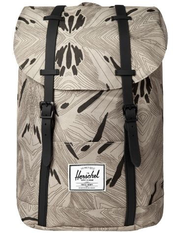 Herschel Retreat Rubber Backpack