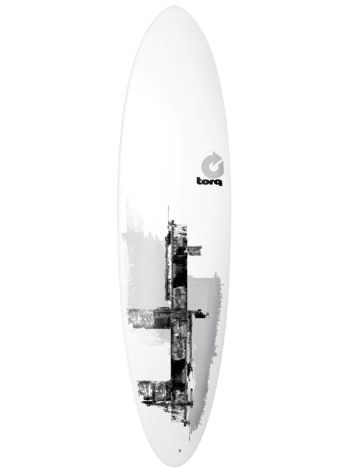 Torq Epoxy 7.2 Funboard Gray Roller