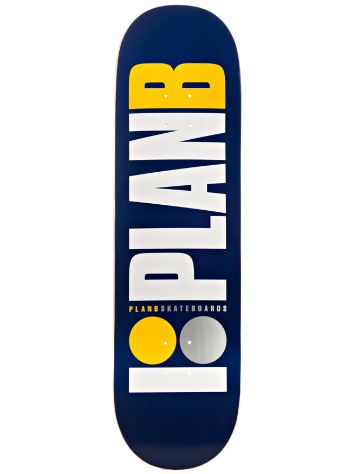 "Plan B Team Og Navy 8.75"" Deck"