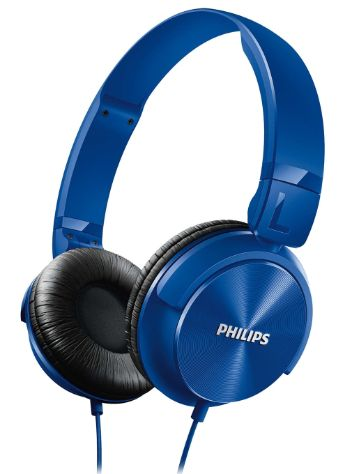 Philips Turbo Bass On-Ear Headphones
