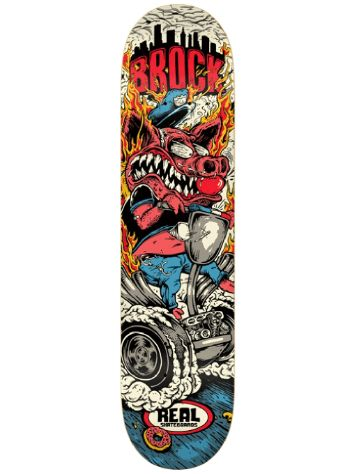 "Real Brock Burnouts 8.06"" x 32"" Deck"