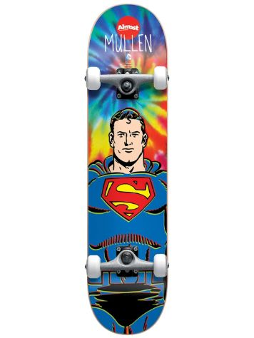 "Almost Mullen Superman Tie Dye Full 7.75"" Compl"