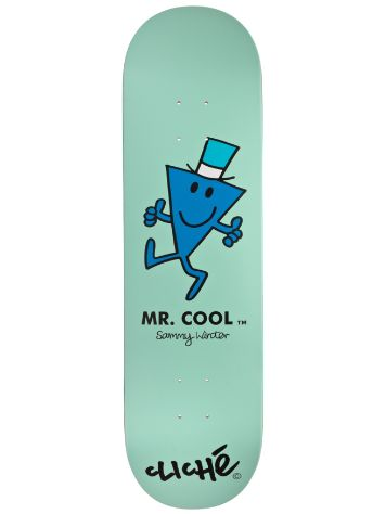 "Cliche Winter Mr. Men R7 8.375"" Deck"