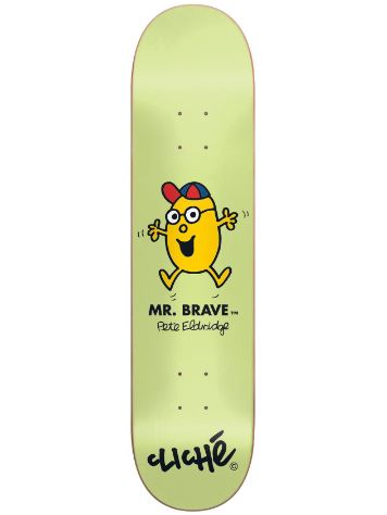 "Cliche Eldridge Mr. Men R7 8.375"" Deck"
