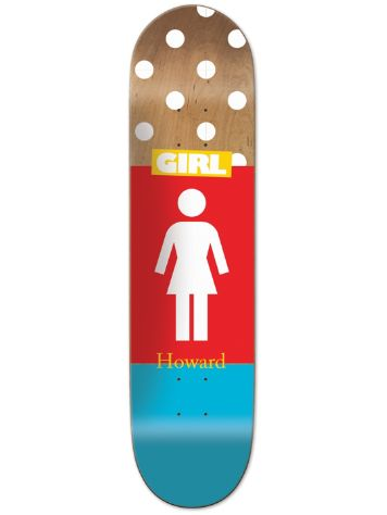 "Girl Howard Blocked Og 8.375"" Skateboard Deck"