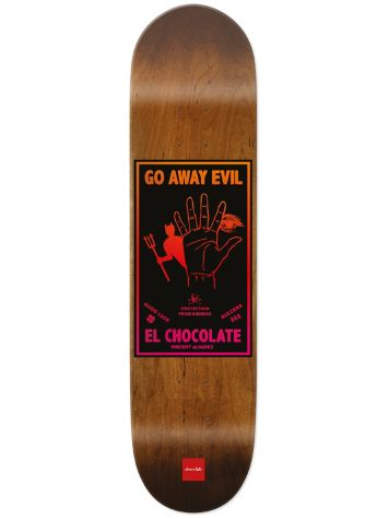 "Chocolate Alvarez Black Magic 8"" Skateboard Deck"