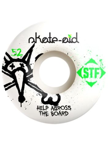Bones Wheels STF Skate Aid 83B V1 52mm Wheels