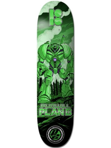 "Plan B Pudwill Guardian 8.25"" Skateboard Deck"