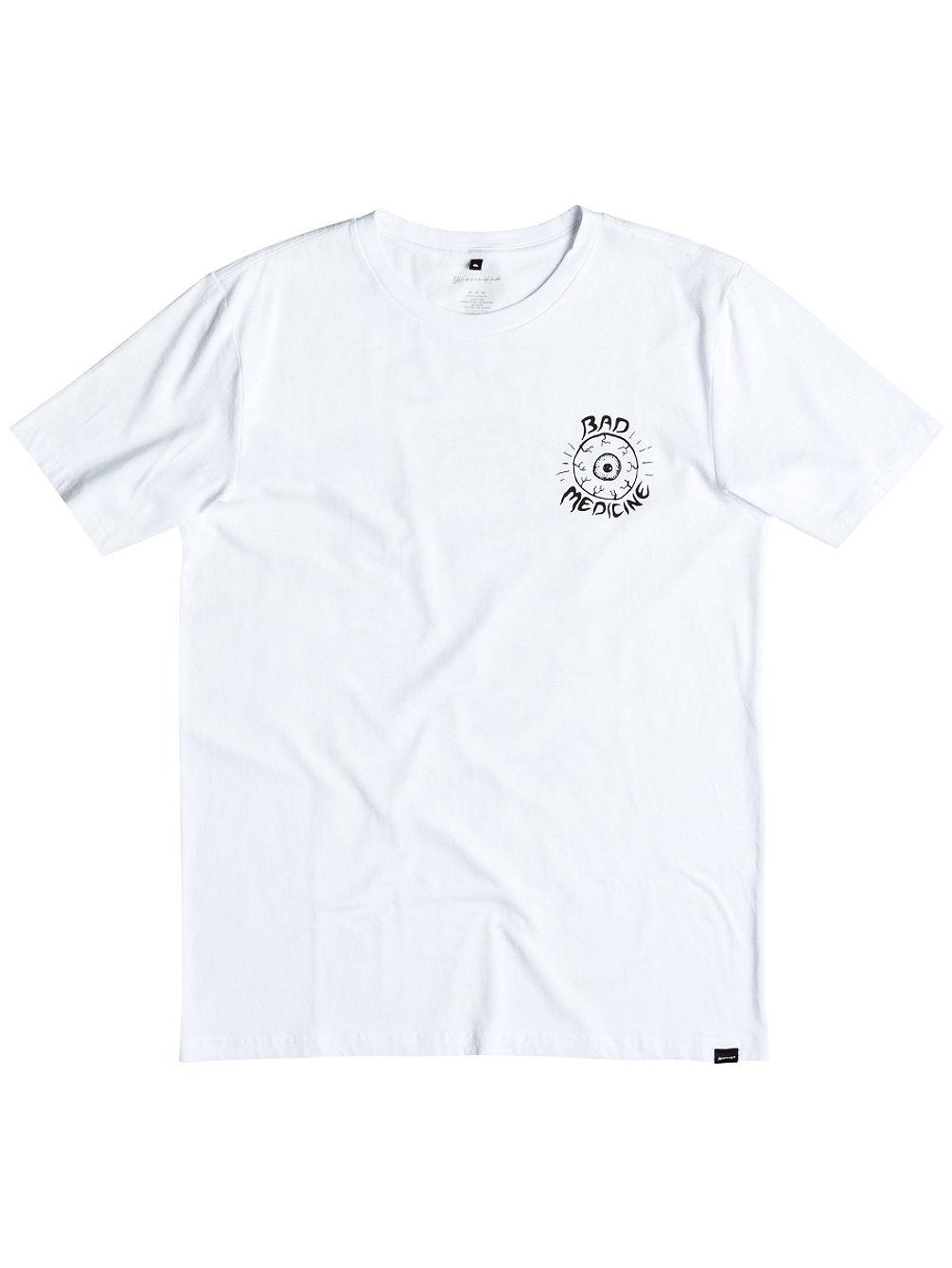 Artikel klicken und genauer betrachten! - FeaturesPM Bad Medicine - T-Shirt für MännerKurze ÄrmelBaumwoll-JerseyMittelschwerer StoffSuper weich dank spezieller WaschungCrew Neck100% Baumwolle   im Online Shop kaufen
