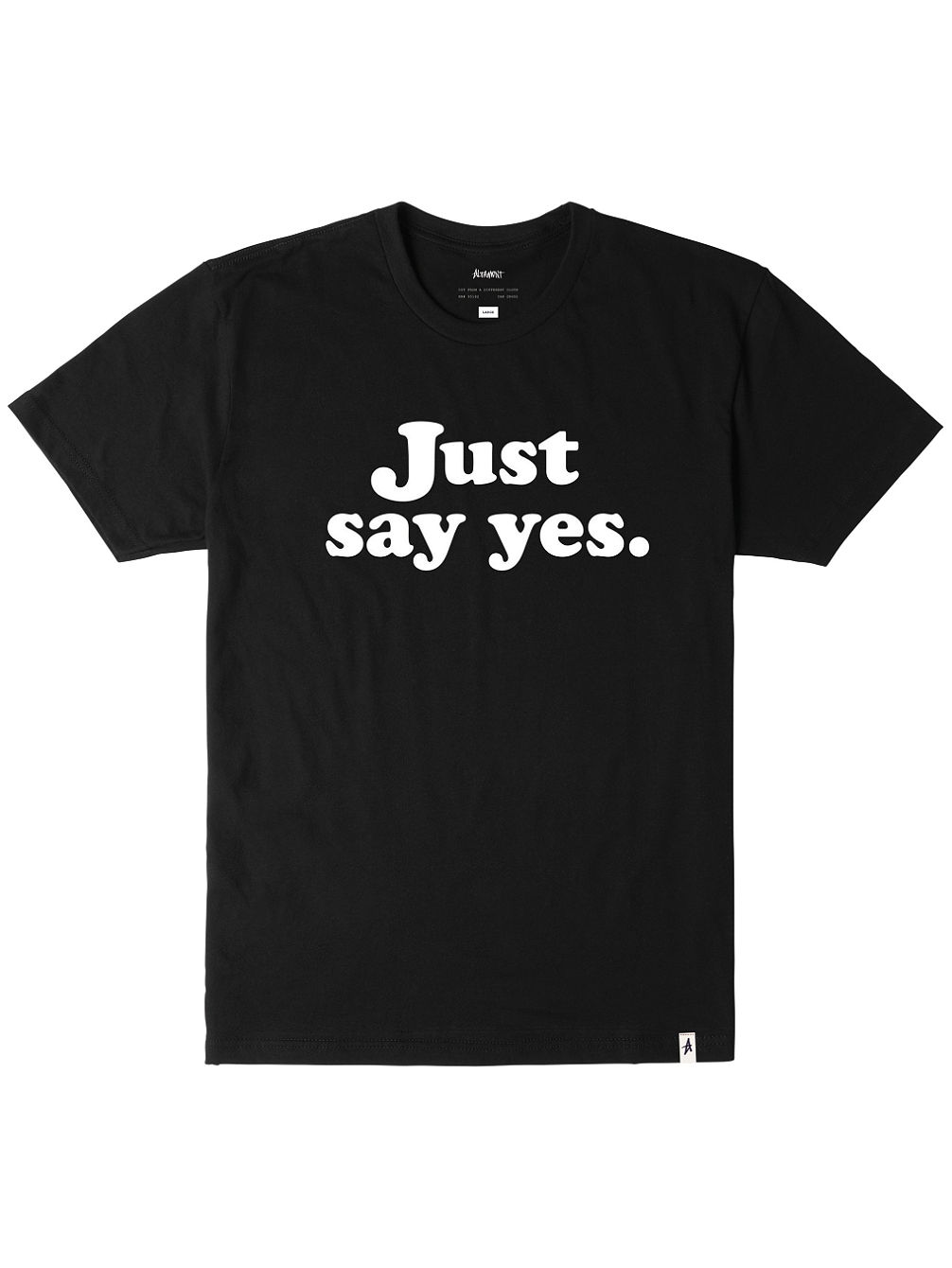 altamont-just-say-yes-t-shirt