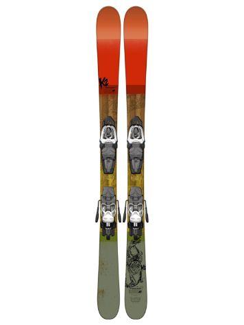 K2 Poacher Jr Fastrak2 4.5 109 2017 Set freeski